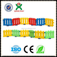 Anti-Crack and Eco friendlyp plastic Baby Play fence Wholesale/kid playpen baby fence/ QX-163A