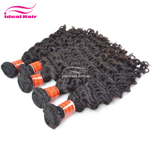 Wholesale IDEAL HAIR dyeable tangle free Cambodian buy hot heads hair extensions