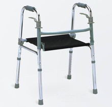 2015 New Design Disabled aluminum adjustable walker Folding walking aid Health Care Products