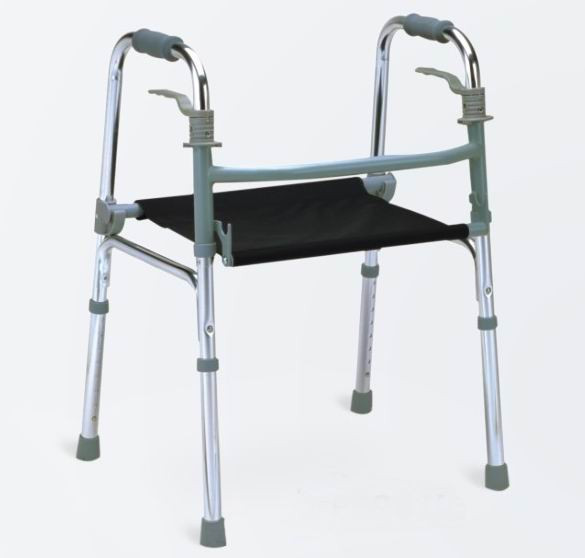 New Design Disabled aluminum adjustable walker Folding walking aid Health Care Products