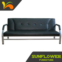 Newest design make in China new model leather sofa bed leather sofa in china