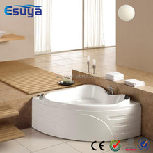 Best selling tub pure white bathroom corner 2 person inflatable hot tub, bath tub