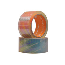 Wholesale Bopp super clear logo printed packing tape for strapping carton