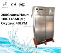 200G/H 100~145MG/L ozone generator used on water treatment