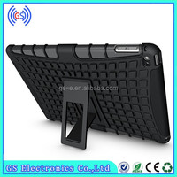 2 in 1 combo armor case for ipad air 2 ,for iPad 6 kickstand case