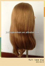 2013 Popular Brazilian Remy Human Hair Full lace Wig