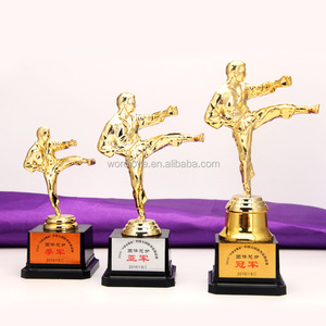 Cheap Wholesale Small Size Plastic Taekwondo Trophy Cup Kickboxing Trophies