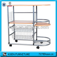 MDF wheel furniture kitchen wagon KC-8006