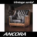 Vintage sofa with button sofa back designs A122