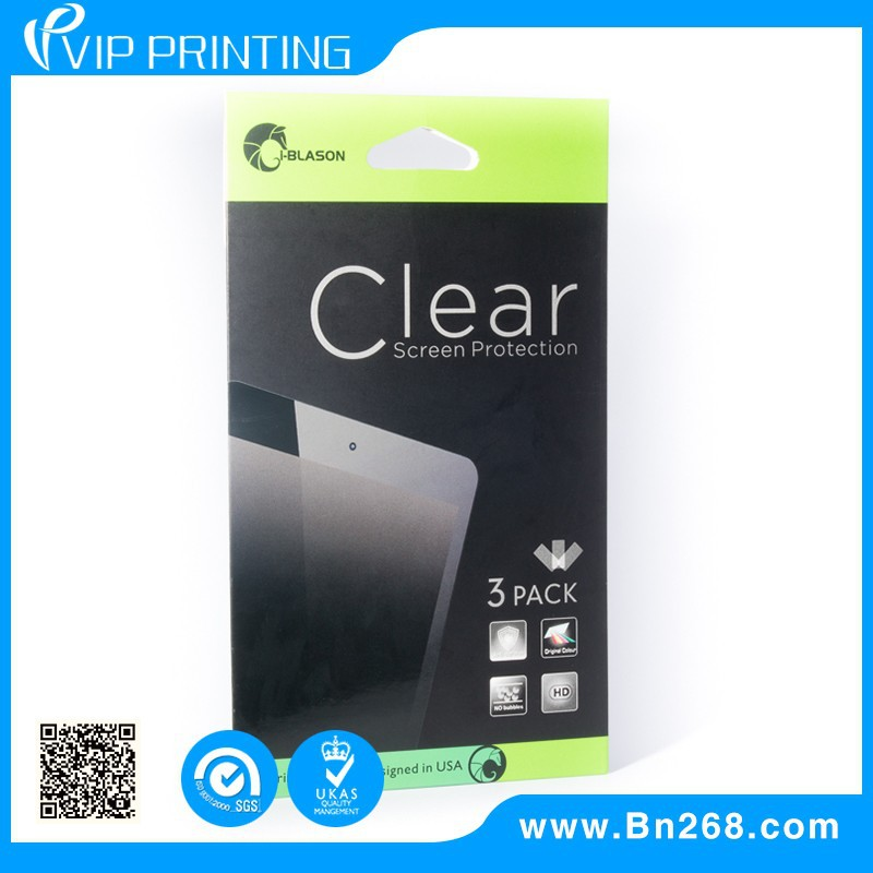 Wholesale Recyclable for screen protector cheap paper box