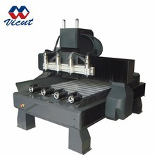 Multi-head Rotary cnc woodworking engraving machine (Gantry Move)