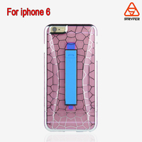 Smartphone accossries electroplating mirror case for iphone 6 plus ,Water Cube decorative line style for iphone 6 plus