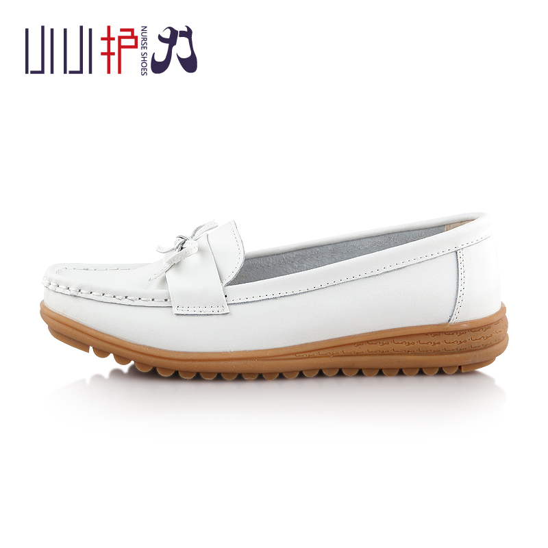 China factory cheap price leather upper casual flat thick rubber sole shoes