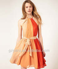 guangzhou YARU garment manufacturer different types of dresses