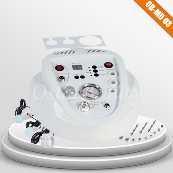 Silk peel machine diamond dermabrasion hot/cold hammer ultrasonic beauty machine (OB-MD 03)