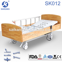 Economy electric home care nursing bed wood beds