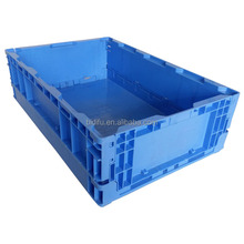 foldable plastic storage crate plastic folding box for packing