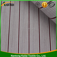 Yarn dyed Cotton stretch fabric stripe fabric for clothing