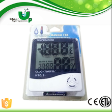 2 probe indoor and outdoor therm hygrometer with large display temperature guage humidity meter
