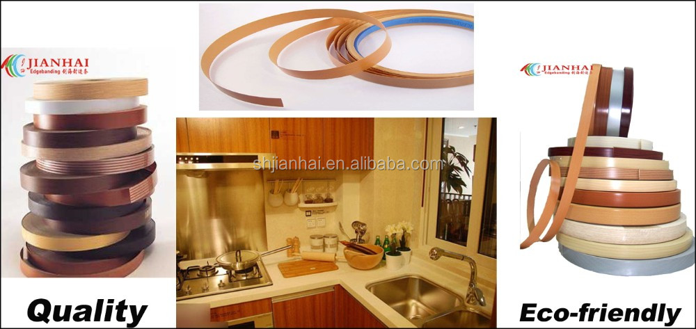 Aluminum edge banding for metal table and kitchen cabinet for Abs trimming kitchen cabinets