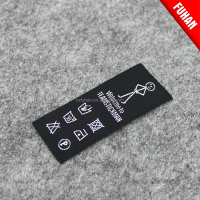 Factory Derict Custom Neck Woven Private Labels for Apparel Private Labels Manufacturers