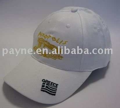 2012 popular 100% cotton baseball hat with embroidery logo