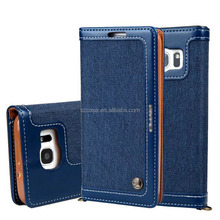 Genuine real leather flip case wallet cover for iphone 6 For iphone 6 plus, leather wallet case for iphone 6