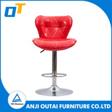 Dining Room High Back Genuine Leather Pu New Design Dining Chair