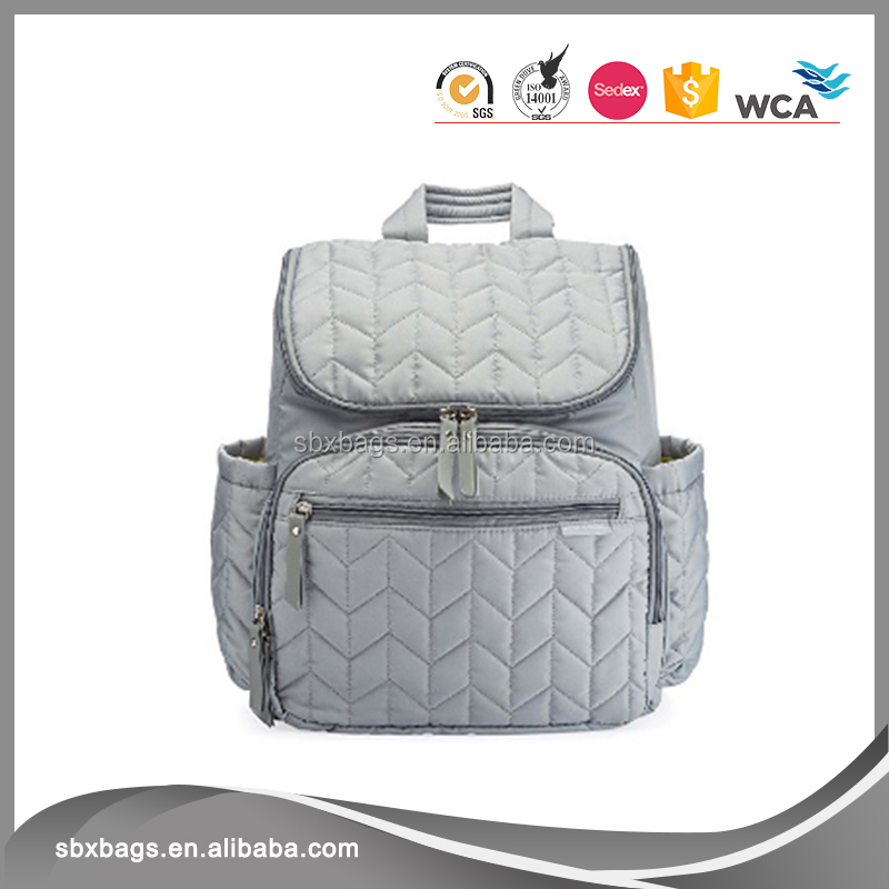 Lightweight Diaper Bag Backpack With Stroller Straps For Mom and Dad