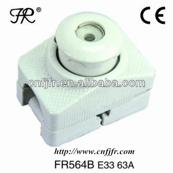 E33/63A screw type ceramic english automatic electric fuses 500v