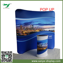 high quality any shape expo stand portable fabric