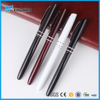 Top quality business luxury fountain thin metal ball pen roller pen