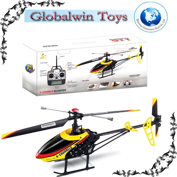 2014 Outdoor Fun ! Alloy r c helicopter parts 2.4G 4CH Gyro RC Outdoor r/c heli copter super alloy vs s977 helicopter