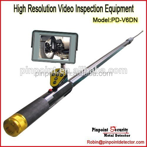 Inspection Equipment PD-V6DN-A Under Vehicle Inspection Camera with High Hardness Alloy Shockproof Suitcase