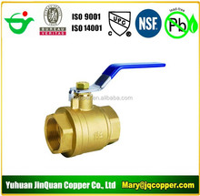 Free Samples for Low Lead/Lead Free Brass Ball Valve