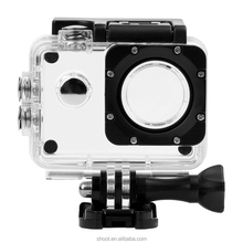 SJ4000 Waterproof Case Diving 30M Underwater Housing for SJ4000+ Plus/ SJ4000 WiFi Camera Extreme Helmet Camcorder