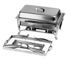 rectangle folding chafing dish with stackable frame