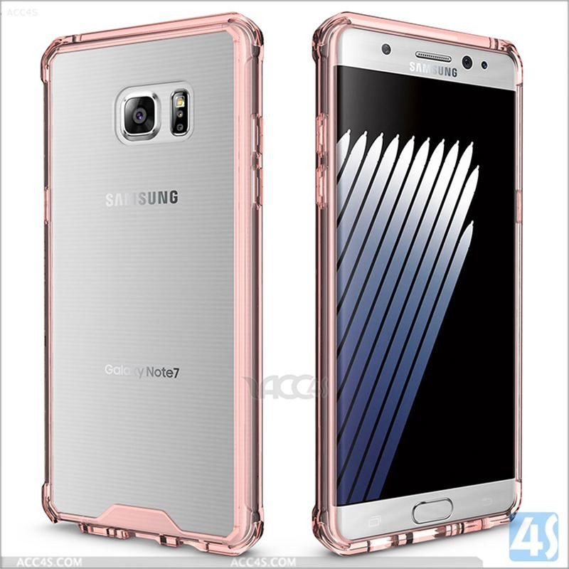 New for samsung galaxy s7 gummy case, for galaxy note 7 bumper case clear