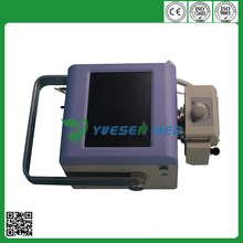 1-200mAs stage adjustment Promotional YSX040-A 4.0KW medical high frequency portable x-ray equipment cheapest