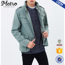 2016 Hot Sell Cool Design Olive Green Jackets for Men
