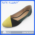 The pointed-toe style women's shoes flats