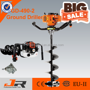 2-stroke GD-490-2 ground hole drilling machine/earth driller/earth auger