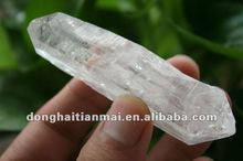 enchanting Natural Clear Quartz Decorating Collectible Crystal POINT/Column