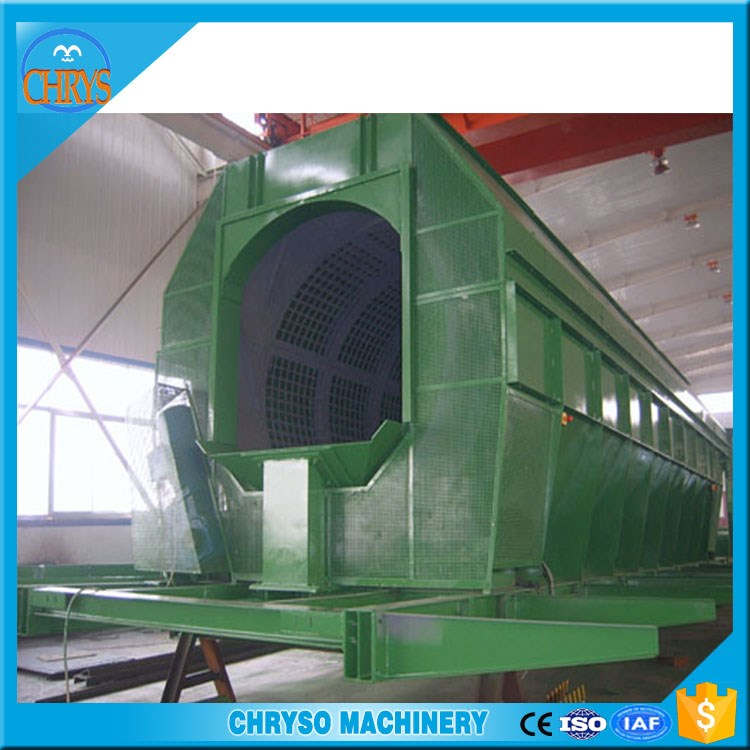 Fully Automatic Waste garbage recycling plant_City Solid waste rubbish separation line