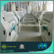 High quality automatic electric corn grinder machinery used flour mills