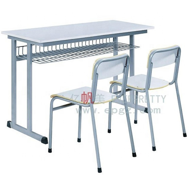 Strong school desk and chair attached
