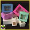 Customized Paper Cupcake Box 1 To