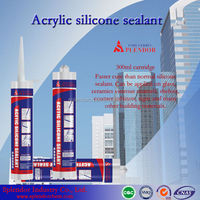 china supply cheap silicone Sealant/ high quality household silicone sealant/ v tech silicon sealant