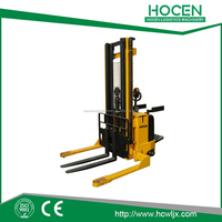 Straddle type Forklift Hydraulic electric pallet stacker