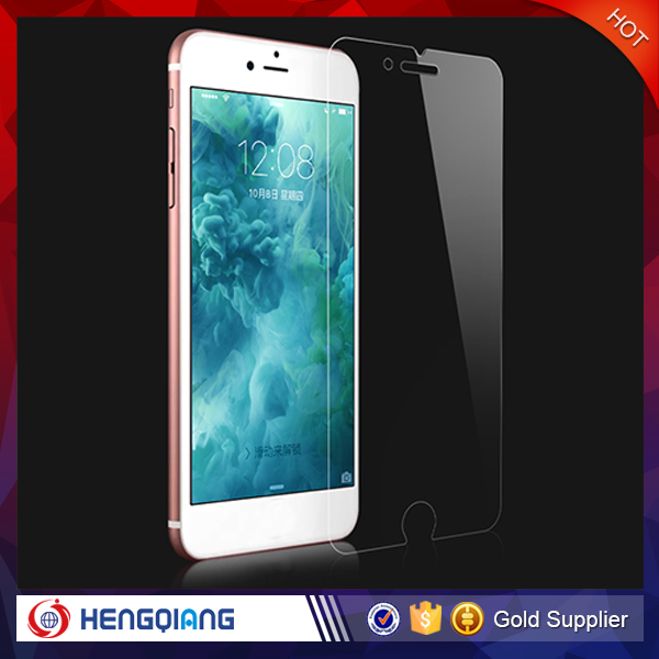 Low price china mobile phone accessories tempered glass screen protector for iphone 6s
